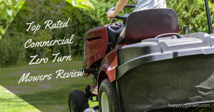Top Rated Commercial Zero Turn Mowers For Challenging Terrains